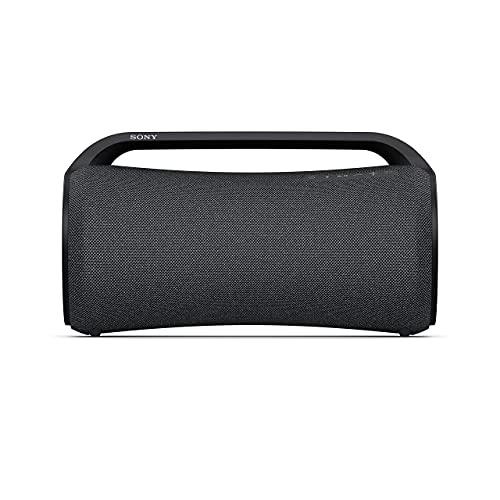 Sony SRSXG500B.EU8 - Speaker Bluetooth portatile e resistente ideale per feste con suono potente, effetti luminosi ed autonomia fino a 30 ore (Nero)