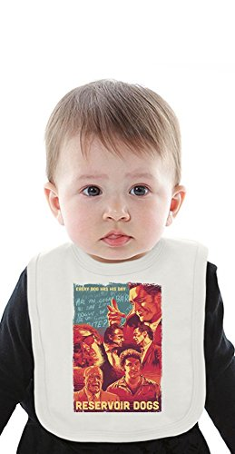 reservoir dogs mockup movie Organic Baby Bib With Ties Medium