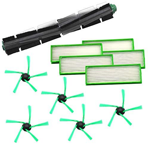 1 Rundbürste 5 Seitenbürsten 5 Filter geeignet für Vorwerk VR200 VR300 VR 200 300