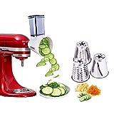 aikeec Nueva actualización KitchenAid MVSA Accesorio kitchen aid mesa cortadora/rebanadora para...