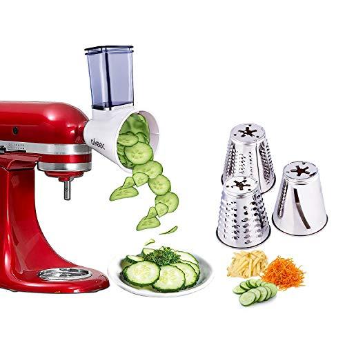 aikeec Nueva actualización KitchenAid MVSA Accesorio kitchen aid mesa cortadora/rebanadora para robots...