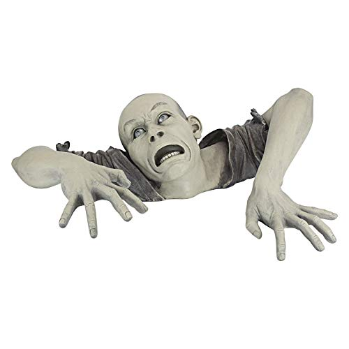 The Zombie of Garden Statue Halloween Decoration,Halloween Skeleton Groundbreaker for Halloween...