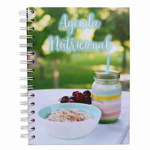 My Berry Own - Agenda Nutricional Turquesa A5, diario nutricional en español, registro de comida diario, fitness y nutrición, ayuda para adelgazar y perder peso, 17 x 21cm