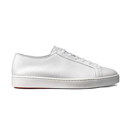 Santoni Herren Sneaker Weiss (10) 43