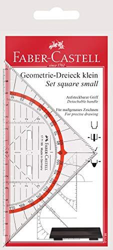 Faber-Castell 177199 - Geometrie-Dreieck mit Griff, 14 cm
