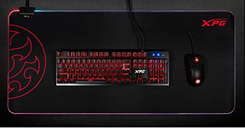 XPG Battleground XL Prime RGB Extra Large Gaming Mouse Mat (BATTLEGROUNDXLPRIME-BKCWW)