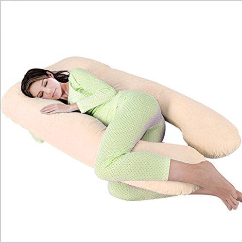 GxNI Las mujeres embarazadas almohada almohada almohada embarazada embarazada cintura almohada tipo posicional u almohada almohada (150 cm-90cm)