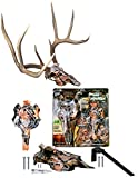Mountain Mike's Reproductions Skull Master Antler Mounting Kit, Fall Camo Dipped