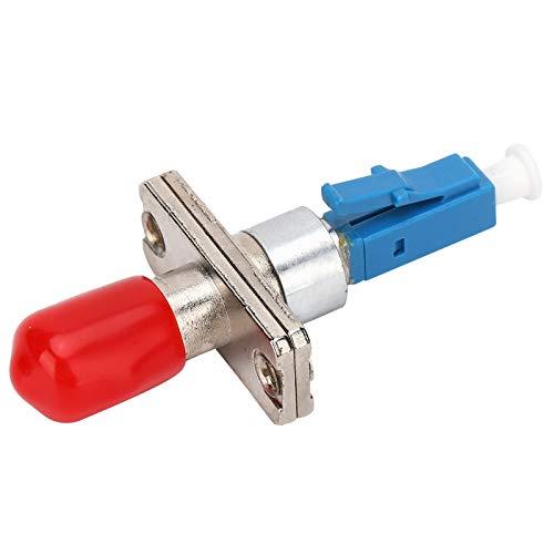 Shanrya Adaptador De Fibra óptica, Conector De Adaptador De Fibra óptica De Cerámica Abs Práctico para El Hogar para La Industria