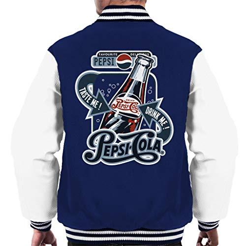 Pepsi Cola Favoriete Heerlijke Fles Varsity Jacket voor heren
