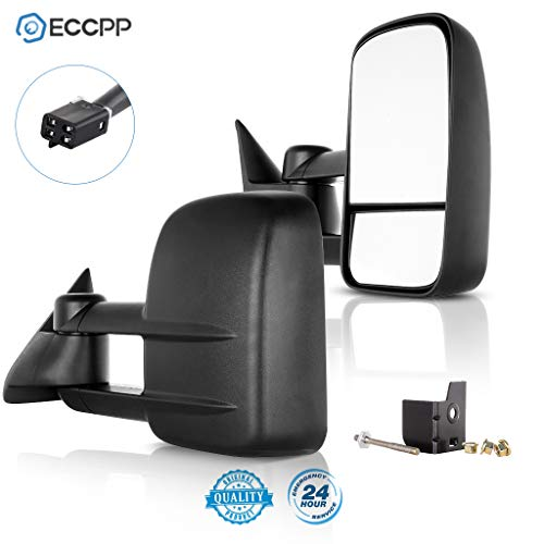 ECCPP Replacement fit for Towing Mirrors Power 88-98 Chevy/GMC C/K1500 88-00 C/K2500 3500 92-99 Suburban C/K1500 2500 Tahoe Yukon Truck/2000 Chevy Tahoe GMC Yukon V8 5.7L