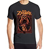 Rob Zombie Man'S Stretch Fitness Short T-Shirt Quick-Drying Shirt tee Camisetas y Tops(X-Large)