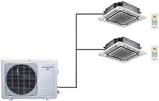Thermocore 36000 BTU Ductless Mini Split Air Conditioner 18000 x 2 - Ceiling Cassette