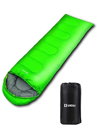 寝袋 「 丸洗い できる 封筒 型 シュラフ 」 LICLI リクライ 「 夏 でも使える 軽量 寝袋 コンパクト で 簡単収納 」「 封筒型 ですっぽり入れる 」「 軽量 防水 カビ対策 素材」約900g