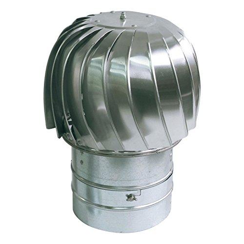 Standard di filatura camino filatore alluminio cappa di ventilazione corrente d'aria discendente 160 millimetri