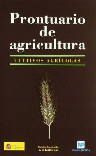Prontuariodeagricultura.Cultivosagrícolas.