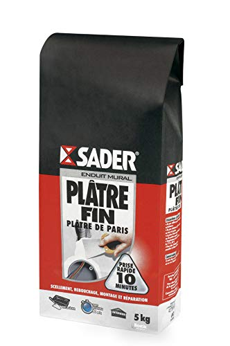 Photo de sader-platre-fin-sac-de-5-kg