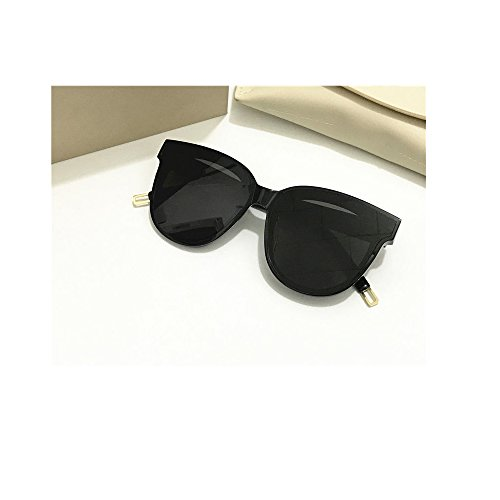 day spring online shop Unisex Sonnenbrille Für sanfte Korea Gentle Man or Women eyeware V Brand IN Scarlet Sunglasses for GM Sunglasses -Black Frame Black Lens