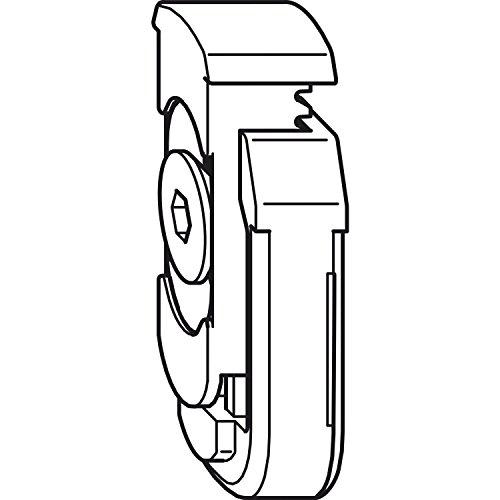 1 St Winkhaus Rahmenteil RT.DFE-TFE.S für den Einbau in Stulpflügelgetriebe