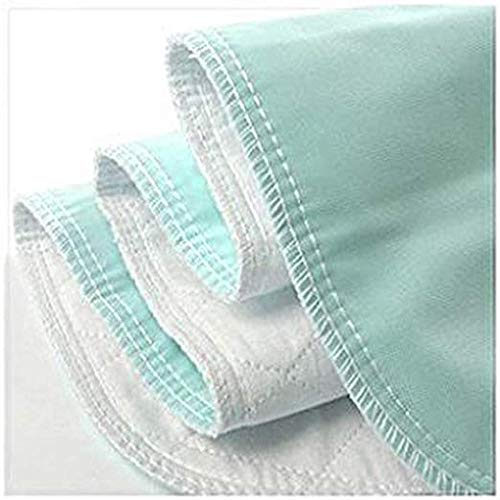 Reusable Bed Underpad - Machine Washable & Dryable, Waterproof, Extra-Absorbent, Personal Care & Hospital Rated Under Pad (Green, 35x80)
