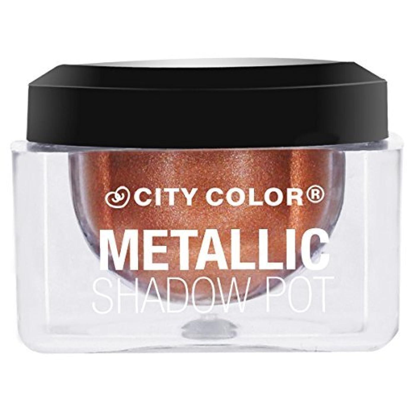 挑むなるみCITY COLOR Metallic Shadow Pot - Solar (並行輸入品)