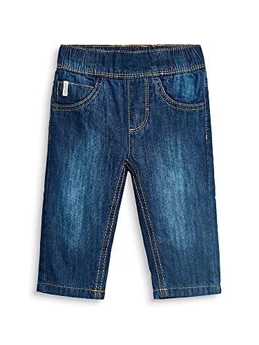 ESPRIT KIDS Unisex Baby Pants Per Jeans, Blau (Medium Wash Denim 463), (Herstellergröße: 62)