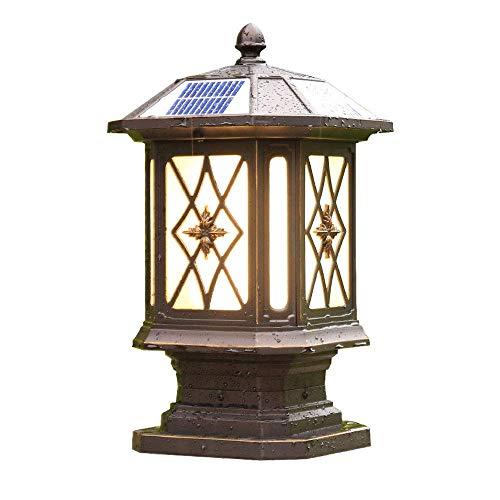 LLSS Retro-Säulenlampe im europäischen Stil wasserdichte...