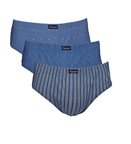 Abanderado LOS Esenciales Estampados Ropa Interior para Hombre, EST. Azul Ramas, G/52