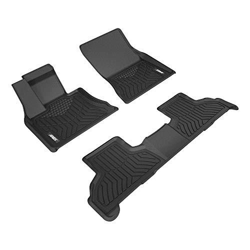 Aries Automotive 2800109 Custom Fit Floor Mat Complete Kit, Bl