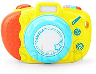 SaleOn Plastic Colorful Cute Electronic Music Camera Sound Light Puzzle Educational Plastic Toys Intelligence Exercise for...
