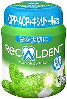 リカルデント さっぱりミントガム ボトル 140g【6個セット】