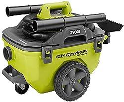 Ryobi 18-Volt ONE+ 6 Gallon Cordless Wet/Dry Vacuum