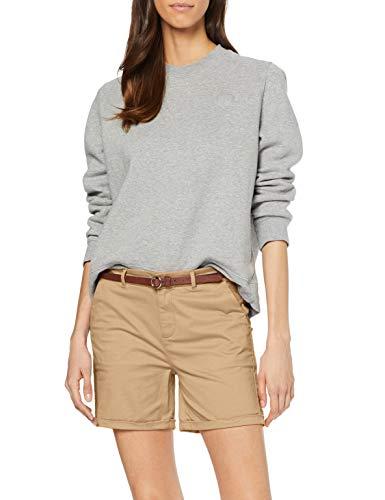 Scotch & Soda Maison Damen Baumwoll Shorts, Beige (Sand 0137), W29(Herstellergröße: 29)