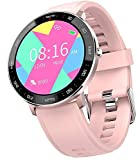 Smart Watch Fitness Tracker for Women Men, Waterproof Activity Tracker Watches with Heart Rate Monitor Step Counter Sleep Tracker Call Message Reminder Smartwatch Compatible Android Samsung iOS Phones