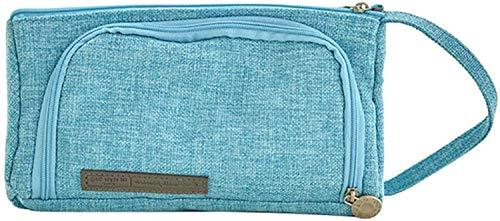 Estuche para lápices para adolescentes y niñas, color azul, nombre de color: azul (color: azul)