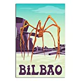 ASFGH Bilbao Spanien Vintage Poster Dekor Gemälde Poster