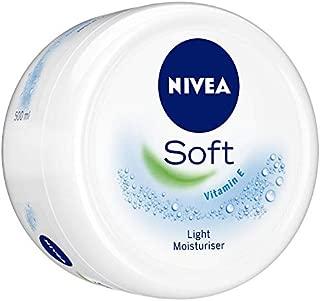 Nivea Cream, Soft Light Moisturiser With Vitamin E, 500 ml