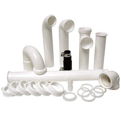 Plumbcraft 7027450 Garbage Disposal Installation Kit, White