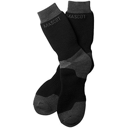 Mascot 50404876091839/43ONE Lowell Socken Lubango, schwarz/dunkelanthrazit, 39/43