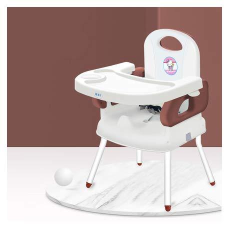 MMYYIP 3 en 1 Asiento Elevador para Niños Silla,Silla de bebé con la Mesa Portátil Plegable Multifuncional para Comer,Trona para Bebé Evolutiva Ajustable y Plegable