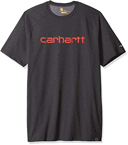 Carhartt Mens Force Delmont Moisture Wicking Short-Sleeve T-Shirt