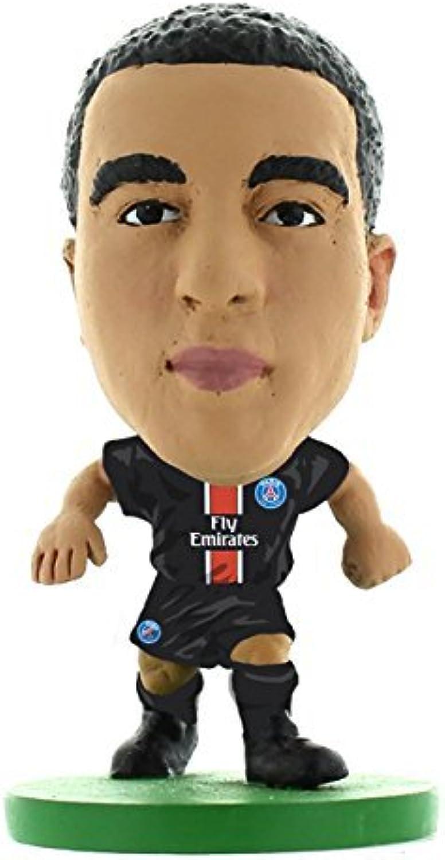 SoccerStarz 2016 Paris St Germain Lucas Moura Home Kit by SoccerStarz