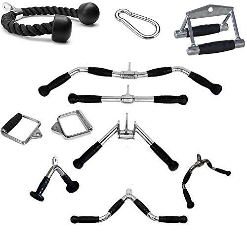 LHXFAN Accesorios para tracción máquinas de Cable de Gimnasio,Máquinas De Fitness Gimnasio,Triceps...
