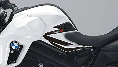 Adhesivos Resina Gel 3D Protecciones Lateral F800 R Compatible para Moto BMW F800R