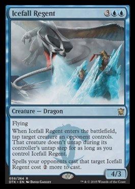 Magic The Gathering - Icefall Regent (058/264) - Dragons of Tarkir
