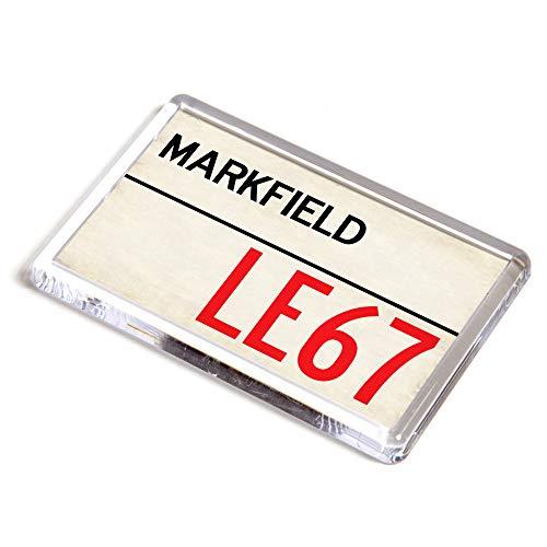 ILoveGifts Markfield LE67 - Calamita da Frigorifero con codice Postale del Regno Unito