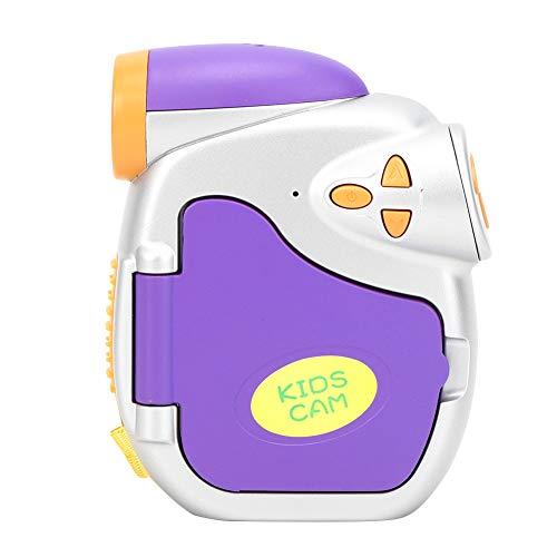 Jopwkuin Cámara De Video para Niños, 4X Zoom Digital Tarjeta De Memoria De 32GB USB 2.0 Cámara para Niños Pequeños Pantalla A Color De 1.5 Pulgadas para Regalo De Cumpleaños