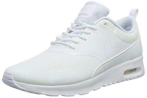 Nike Women's Air Max Thea Low-Top Sneakers, White (White/White), 6 UK 40 EU