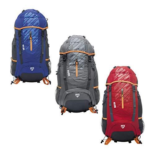 Pavillo Ultra Trek 60L Backpack Sac à Dos, Multicolore, 33 x 30 x 61 CM