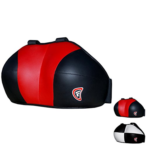 Farabi Damen Brustschutz Brustschutz Brust Schutz Boxen MMA Muay Thai Martial Art schutzausrüstungen Brustschutz, rot / schwarz, S/M